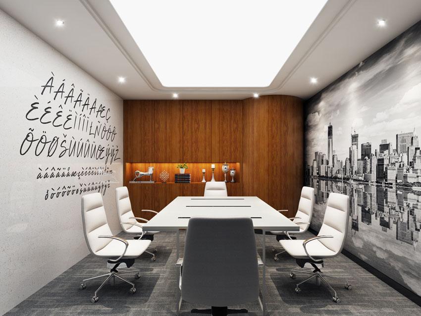 新意互动广告有限公司办公室装修效果图