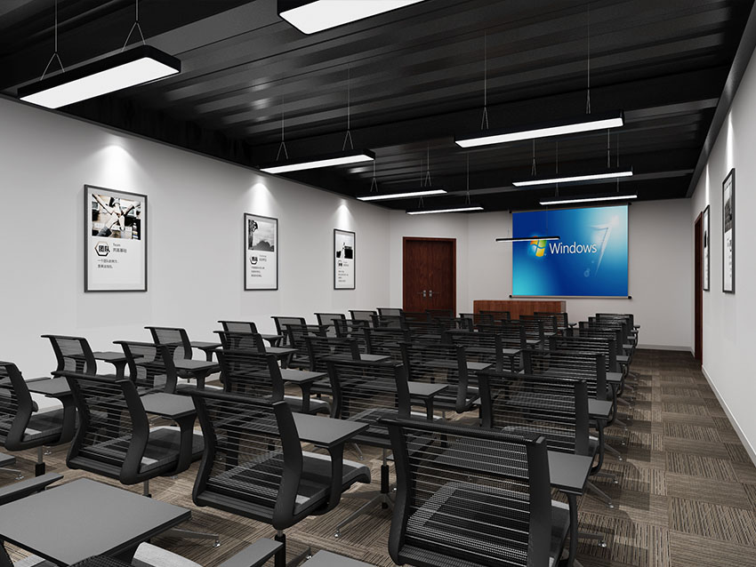 希杰视动空间办公室设计装修效果图